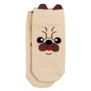 Socks Ankle Pug Made With Cotton & Spandex by JOE COOL