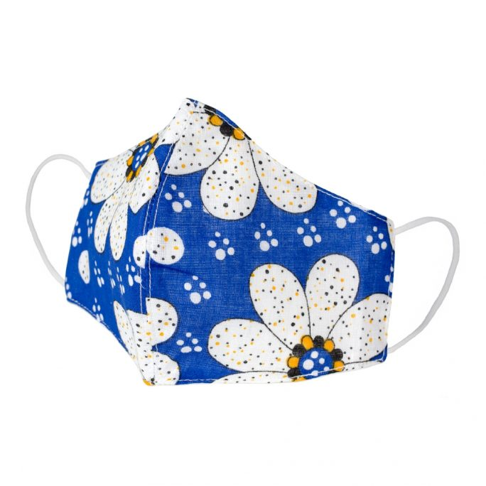 Face Mask Happy Flower Made With Cotton by JOE COOL