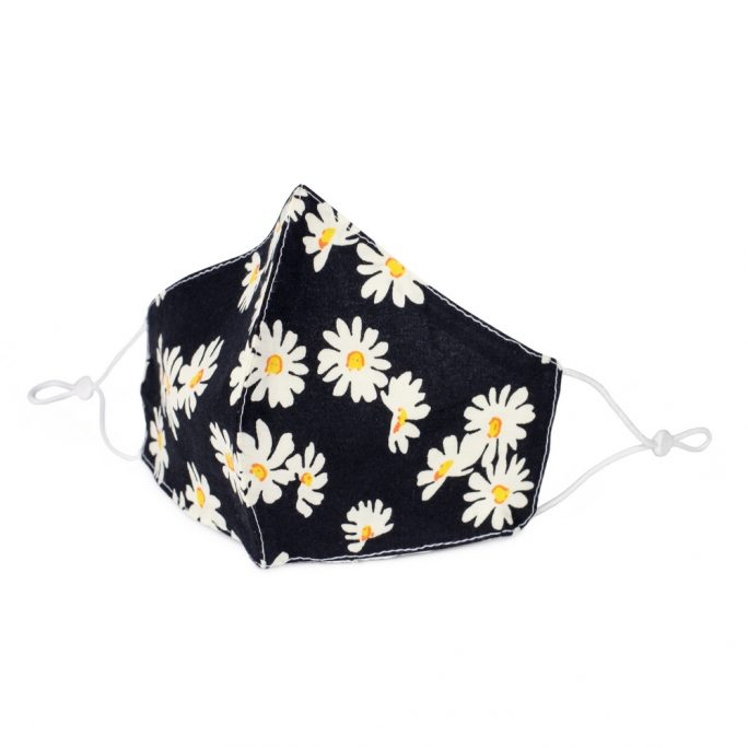 Face Mask Lazy Daisy Made With Cotton by JOE COOL