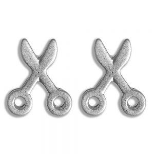 Stud Earring Travelogue Matte Scissors by JOE COOL