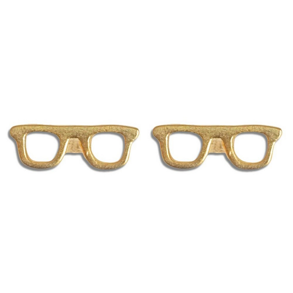 Stud Earring Travelogue Matte Spectacles by JOE COOL