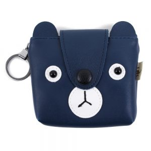 Coin Purse Button Nose Ted Made With Zinc Alloy by JOE COOL