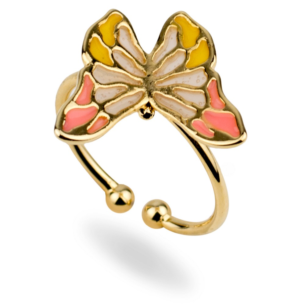 Ring Cloisonne Butterfly Made With Tin Alloy by JOE COOL