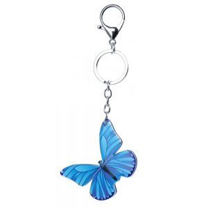 Keyring Butterfly Made With Acrylic by JOE COOL