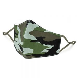 Face Mask Camouflage Regular Size Made With Cotton by JOE COOL