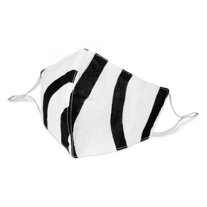 Face Mask Monochrome Stripe Made With Cotton by JOE COOL