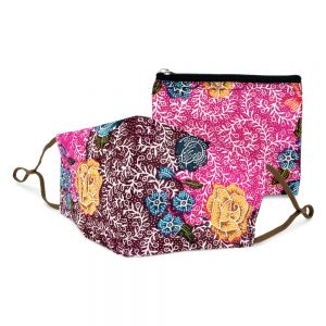 Face Mask Batik Made With Cotton by JOE COOL