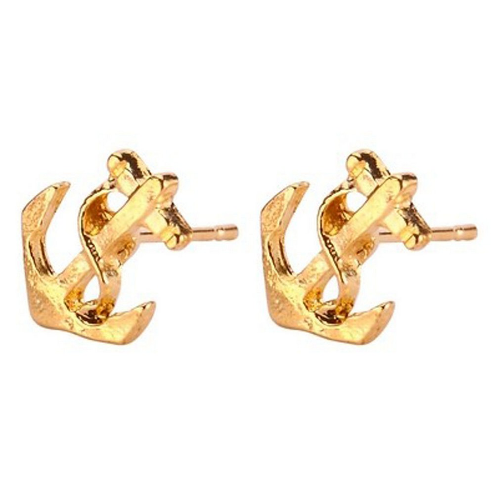 Stud Earring Anchor Made With Tin Alloy by JOE COOL
