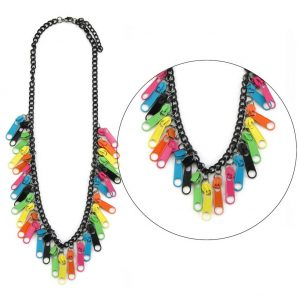 Necklace Chain Zip Made With Iron by JOE COOL
