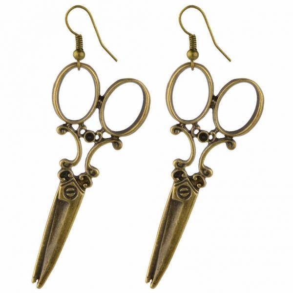 Drop Earring Scissors Made With Zinc Alloy by JOE COOL
