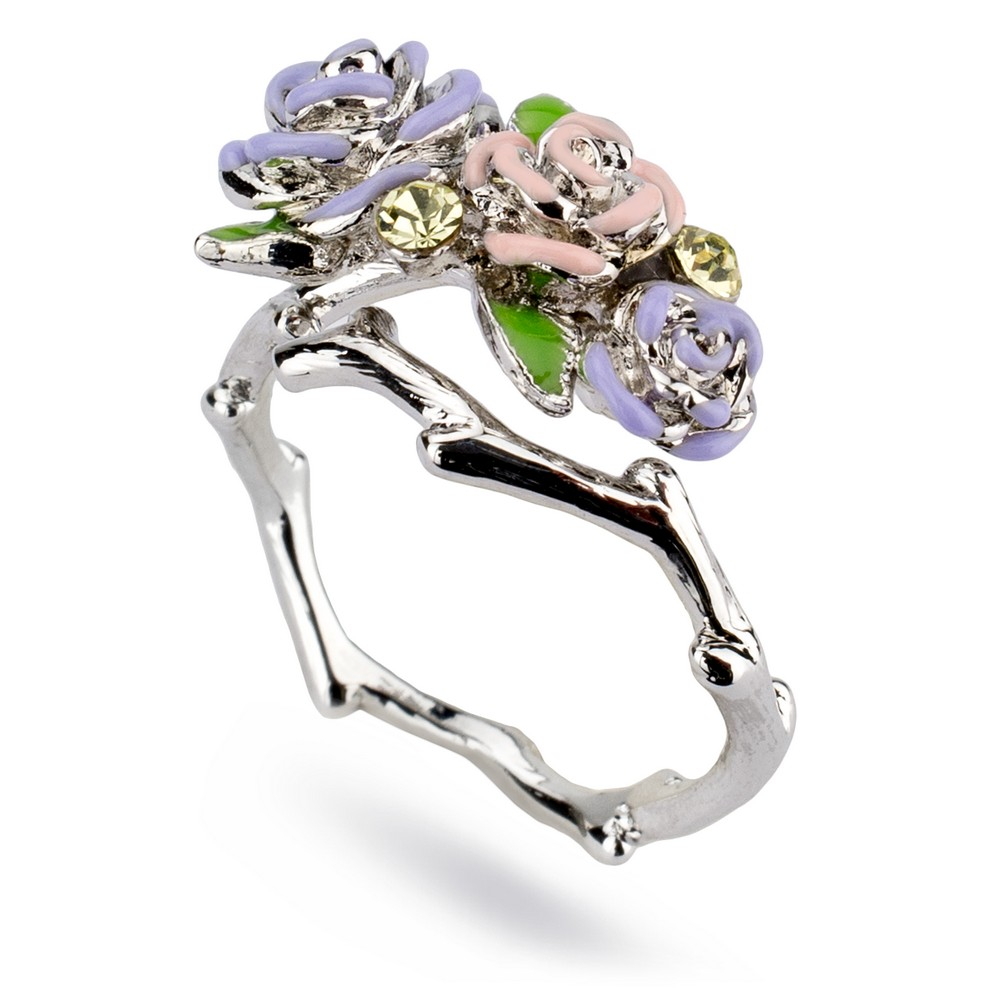 Ring Roses Made With Tin Alloy by JOE COOL