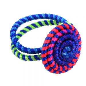 Ring Riotous Fiesta Twist Made With Iron & Polyester by JOE COOL