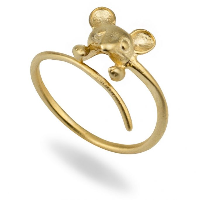 Ring Mouse Made With Tin Alloy by JOE COOL