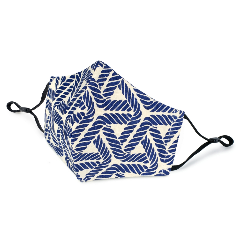 Face Mask Indigo Rope Made With Cotton by JOE COOL