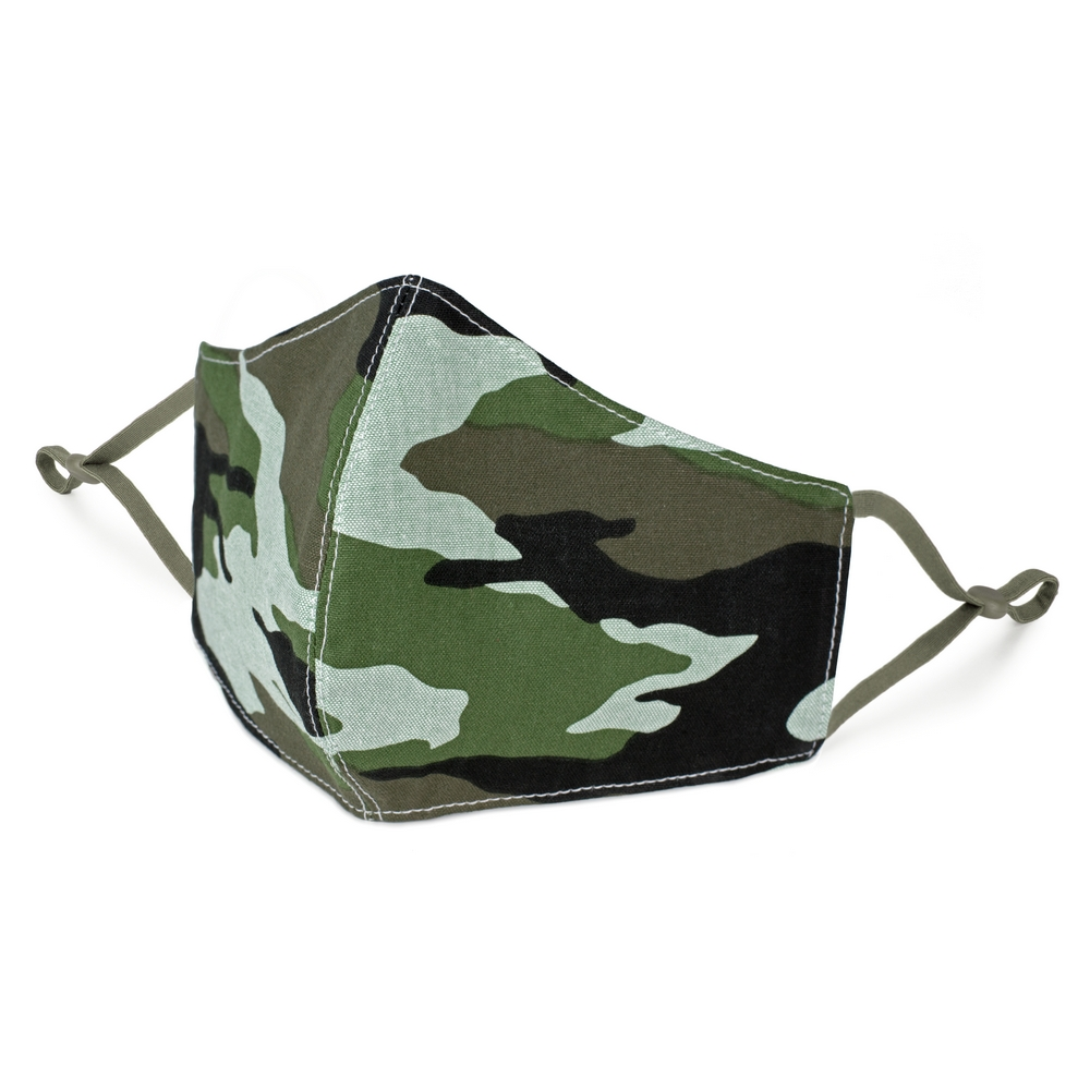 Face Mask Camouflage Large Size Made With Cotton by JOE COOL