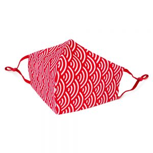 Face Mask Small Wave Made With Cotton by JOE COOL