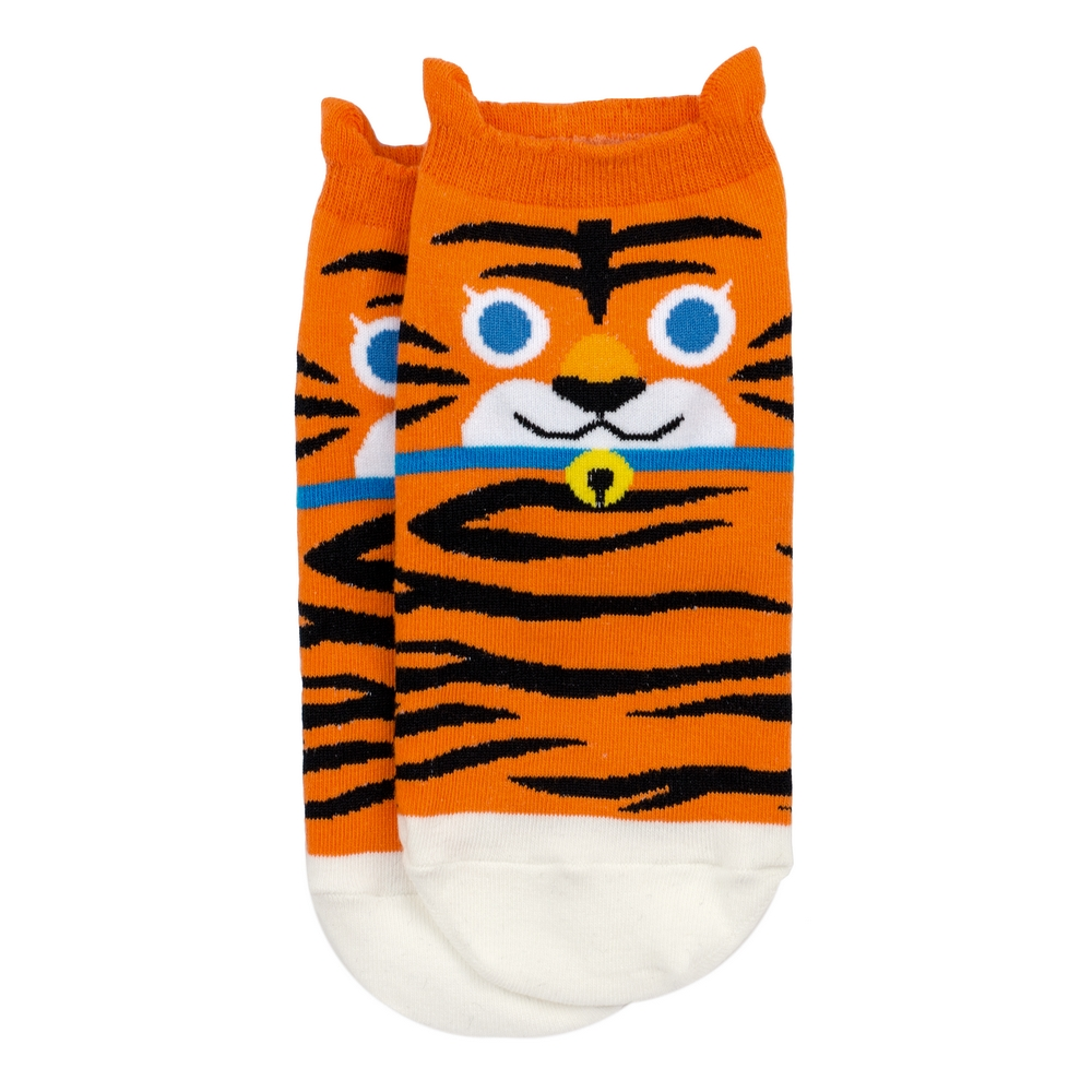 Socks Ankle Tiger Made With Cotton & Spandex by JOE COOL