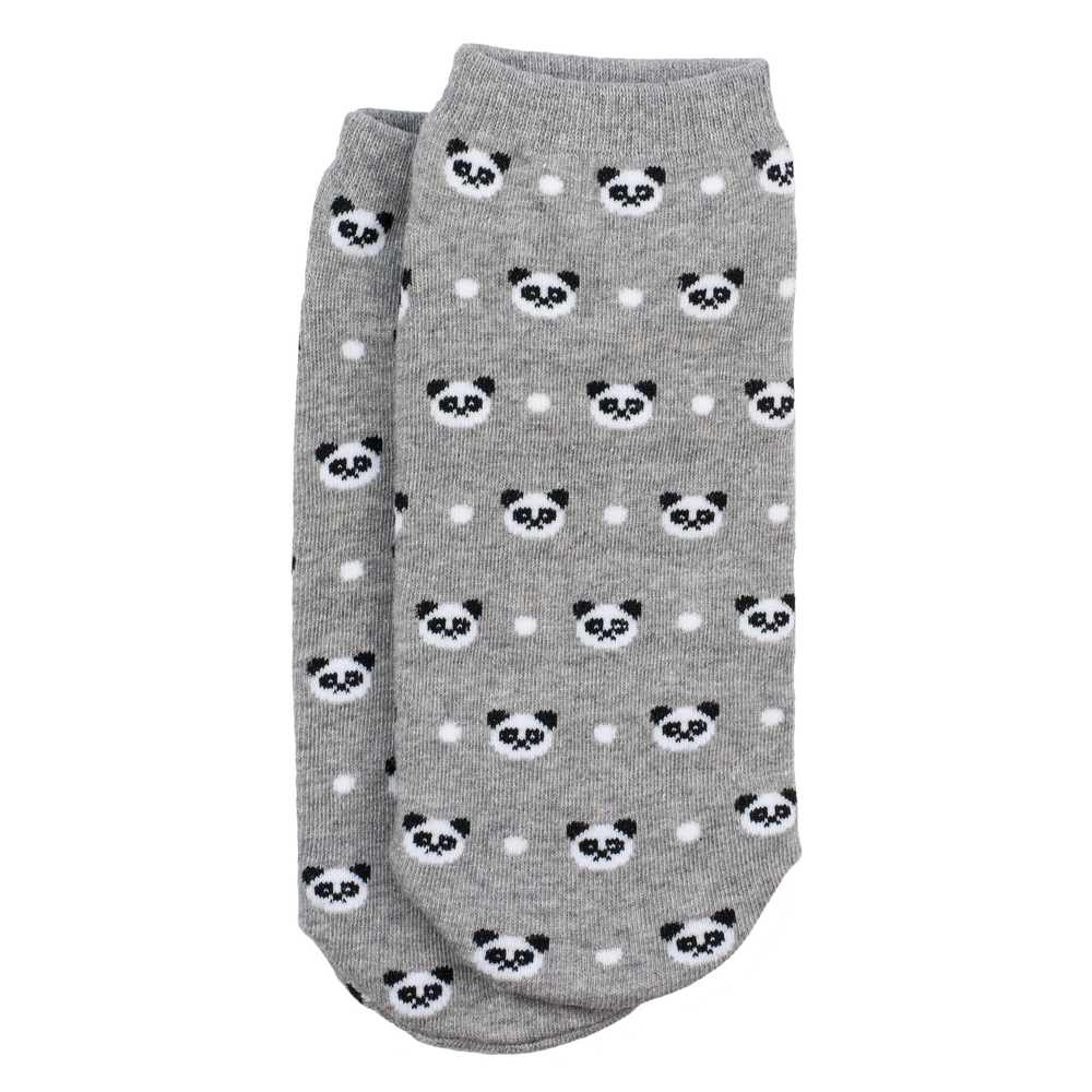 Socks Ankle Panda Heads Made With Cotton & Spandex by JOE COOL