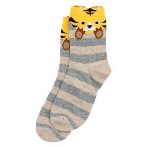 Socks Tiger Stripe Made With Cotton & Nylon by JOE COOL