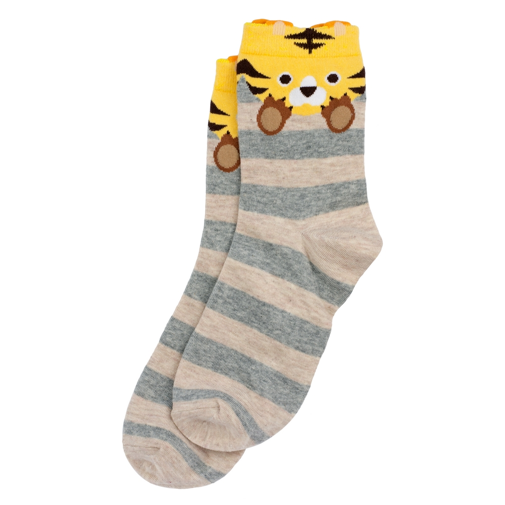 Socks Tiger Stripe Made With Cotton & Nylon by JOE COOL