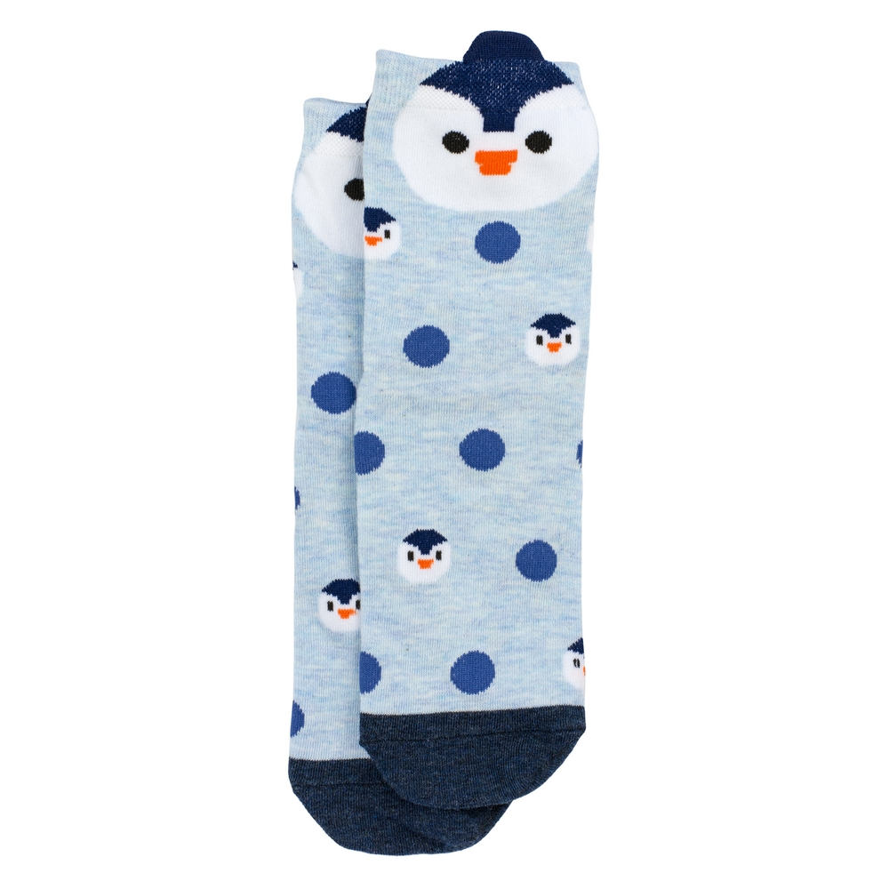 Socks Spotty Penguin Made With Cotton & Nylon by JOE COOL
