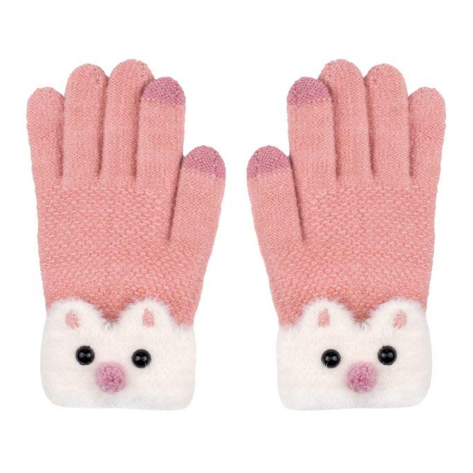 Gloves Bear Cuff Made With Acrylic by JOE COOL