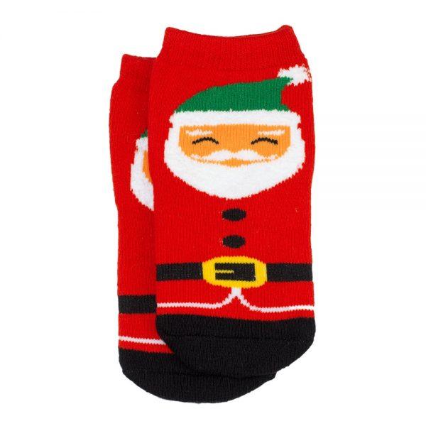 Socks Kids Santa Age 5-6 Made With Cotton & Spandex by JOE COOL