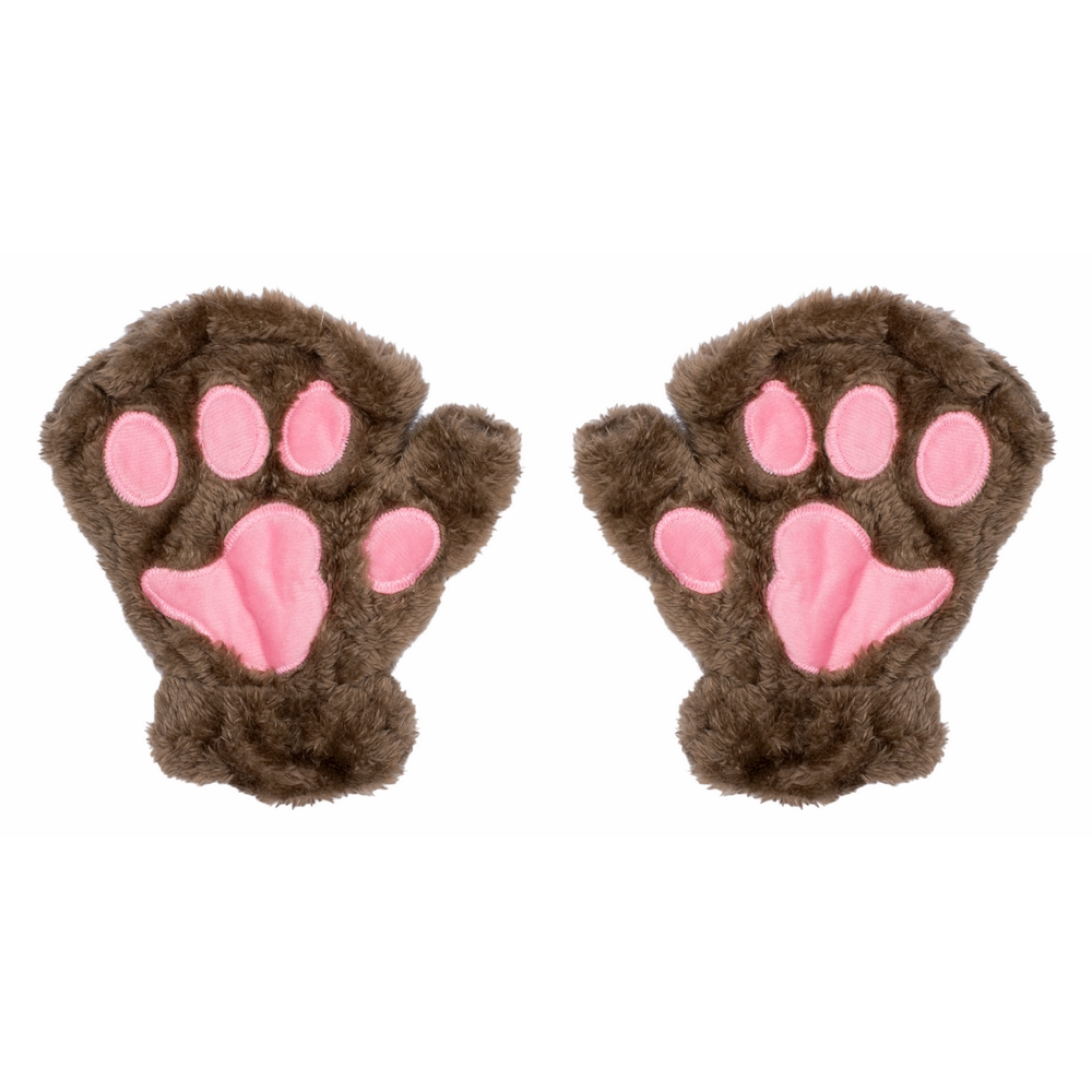 Gloves Fingerless Bear Paw Made With Acrylic by JOE COOL