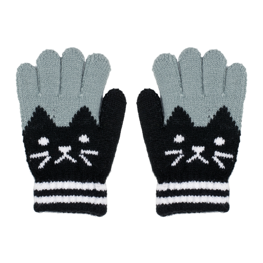 Gloves Meow Age 3-5 Made With Acrylic by JOE COOL