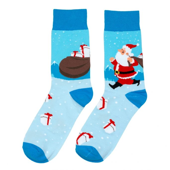 Socks Dancing Santa Made With Cotton & Nylon by JOE COOL