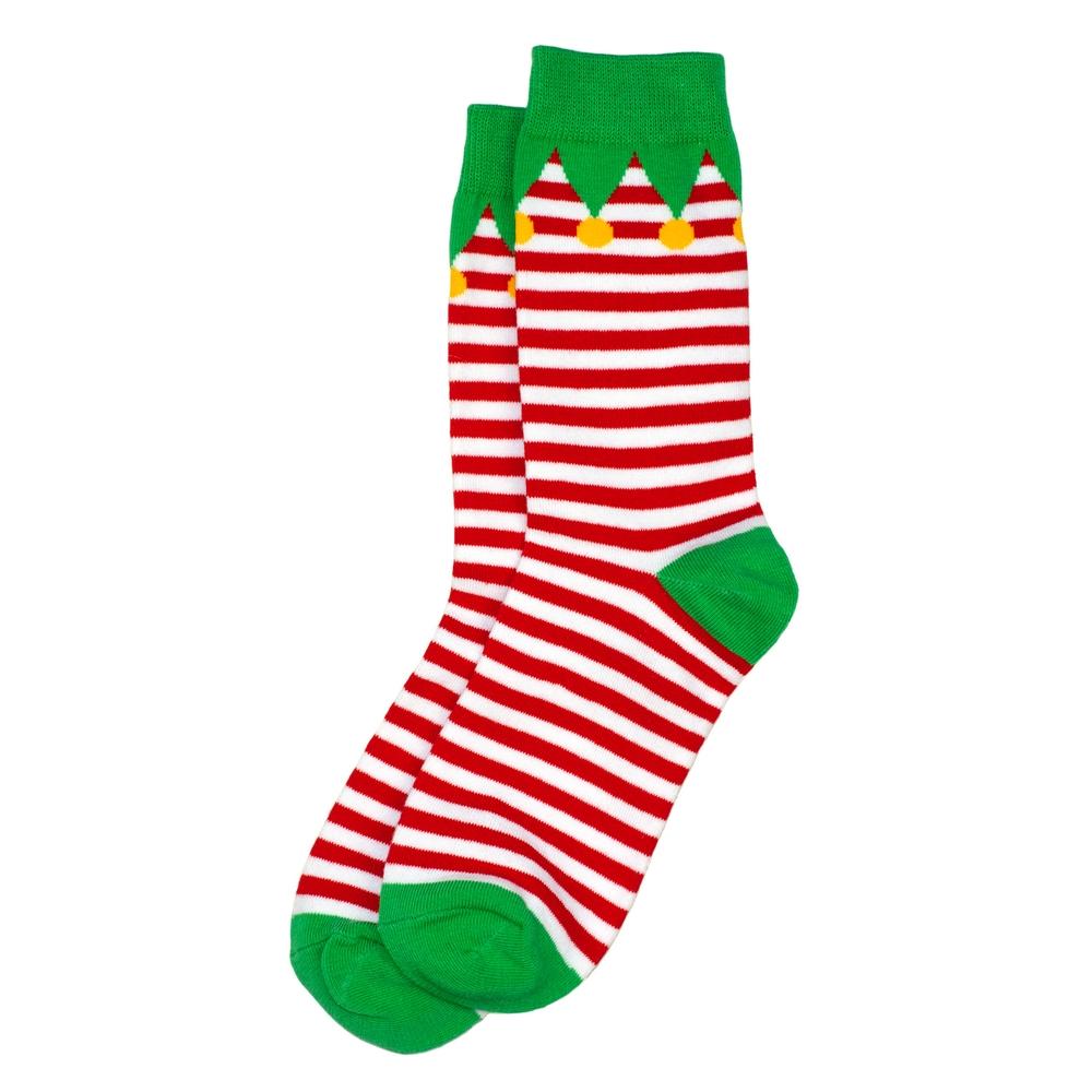 Socks Elf Made With Cotton & Nylon by JOE COOL