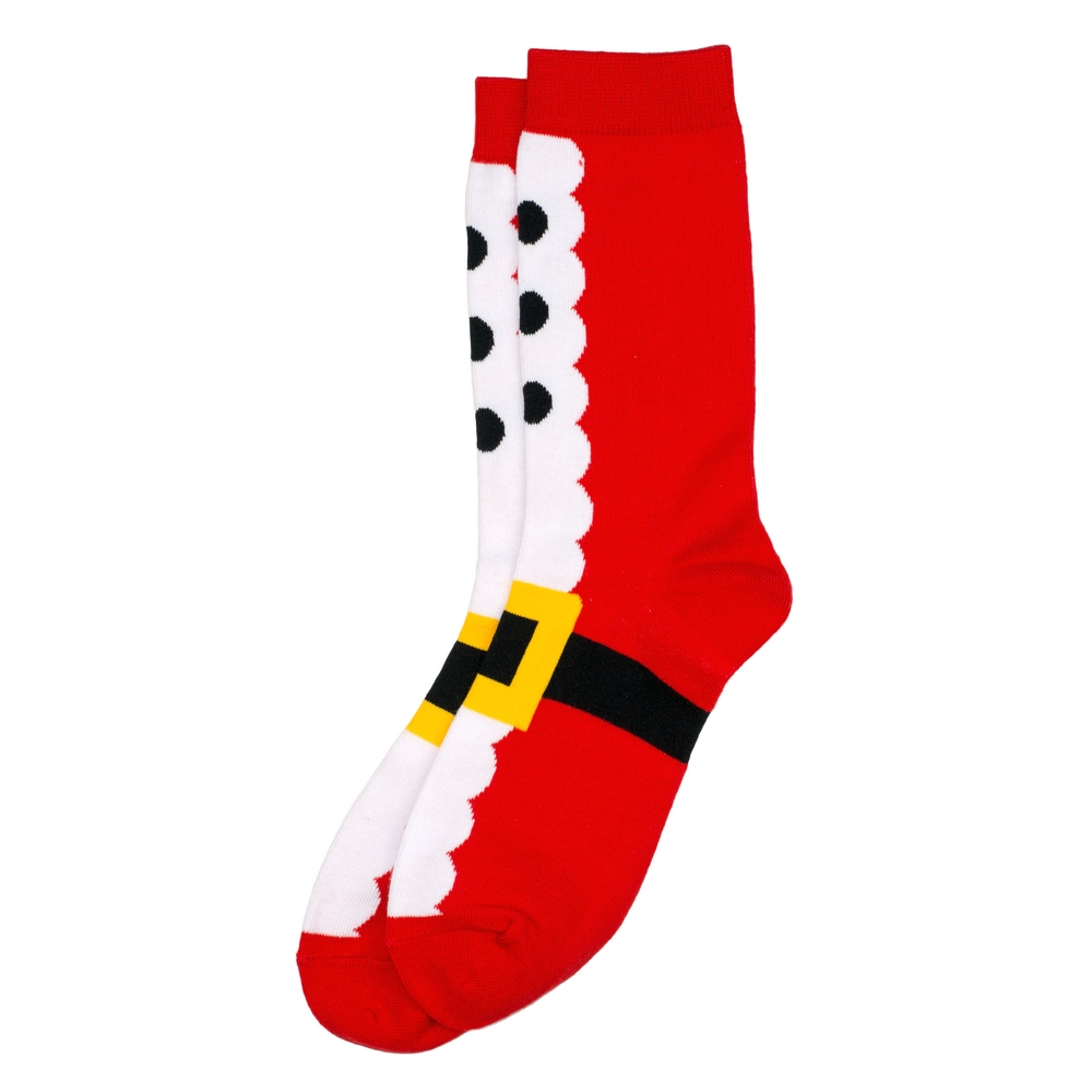 Socks Santa Suit Made With Cotton & Nylon by JOE COOL