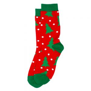Socks Christmas Forest Made With Cotton & Nylon by JOE COOL