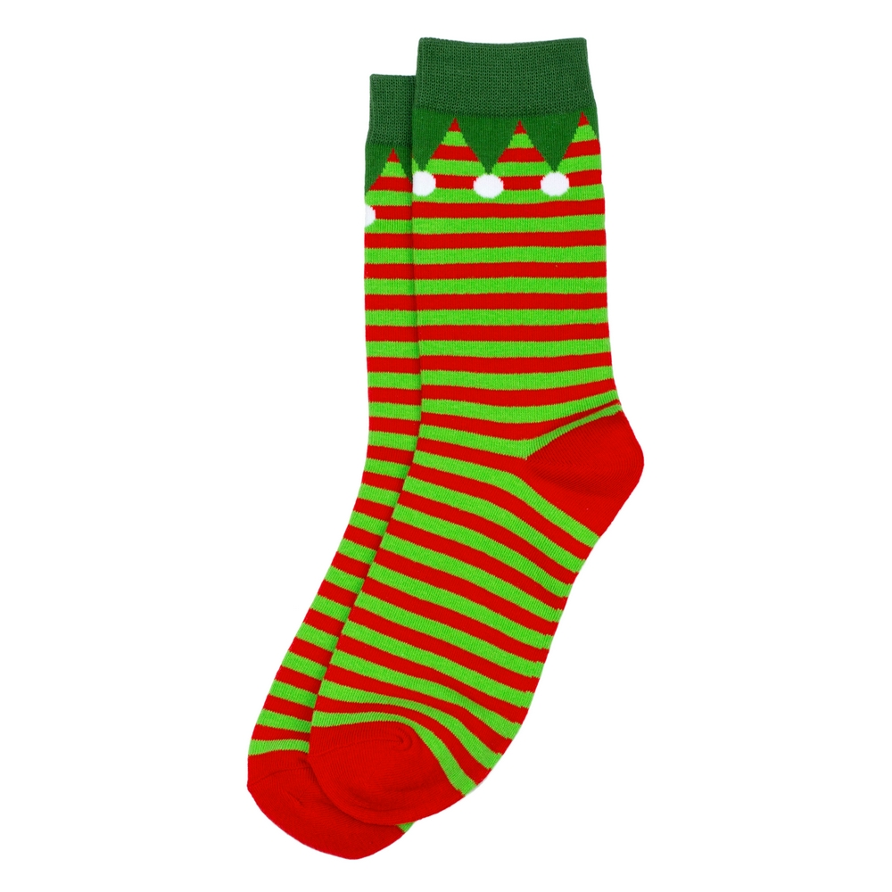 Socks Elf Made With Cotton & Nylon by JOE COOL