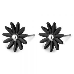 Stud Earring Petite Daisy Made With Tin Alloy & Acrylic by JOE COOL