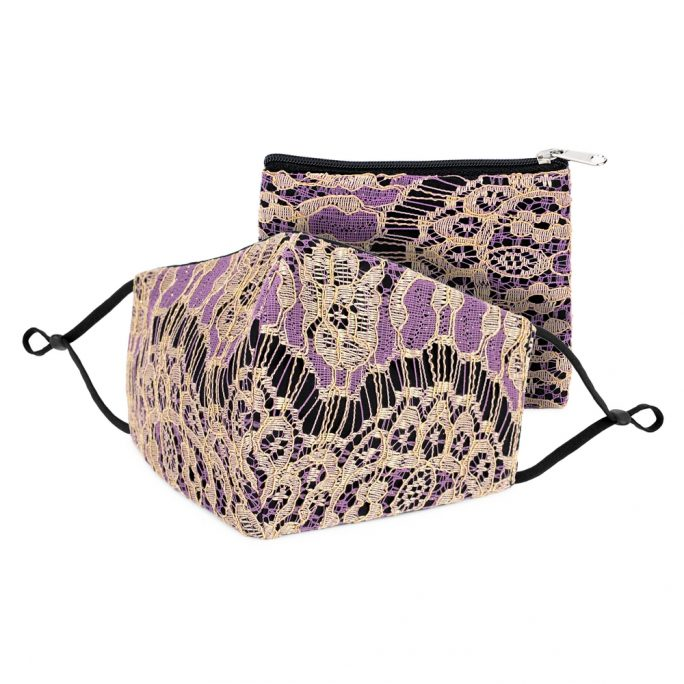 Coin Purse Lace Made With Cotton & Polyester by JOE COOL