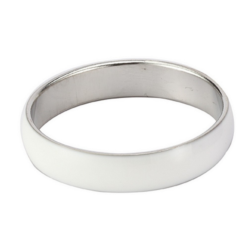 Bangle Curved Made With Enamel & Tin Plate by JOE COOL