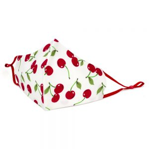 Face Mask Bright Cherry Made With Cotton by JOE COOL