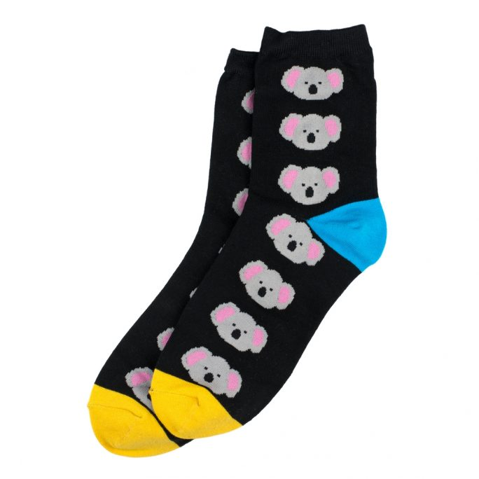 Socks Koala Joey Made With Cotton & Spandex by JOE COOL