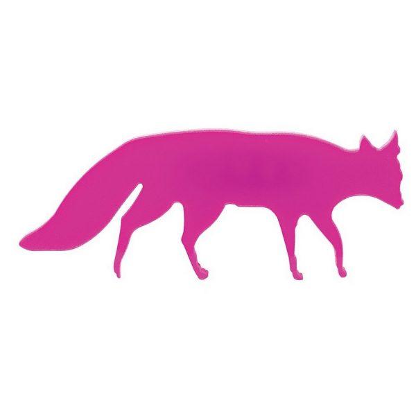 Brooch Fox Made With Acrylic by JOE COOL