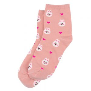 Socks Bunny Love Made With Cotton & Spandex by JOE COOL