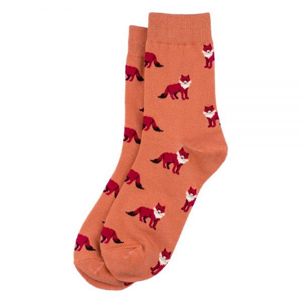 Socks Fox Made With Cotton & Spandex by JOE COOL