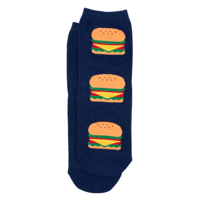 Socks Best Burger Made With Cotton & Spandex by JOE COOL