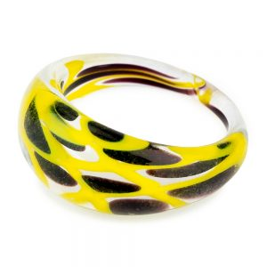 Ring Unique Design Made With Glass by JOE COOL