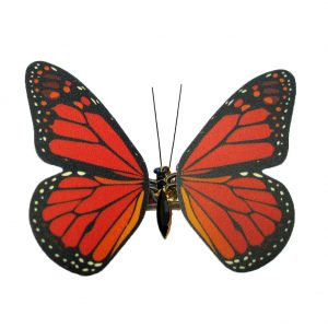 Hairwear Pp Butterfly Monarch Orange Made With Polypropylene & Tin Alloy by JOE COOL