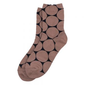 Socks Geo Spot Made With Cotton & Spandex by JOE COOL