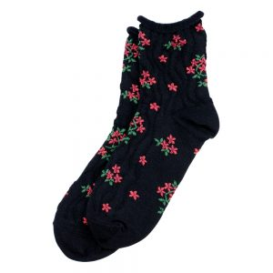 Socks Ruffle Blossom Made With Cotton & Spandex by JOE COOL