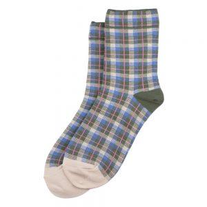 Socks Tartan Checkers Made With Cotton & Spandex by JOE COOL
