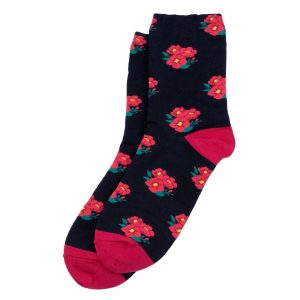 Socks Posy Made With Cotton & Spandex by JOE COOL