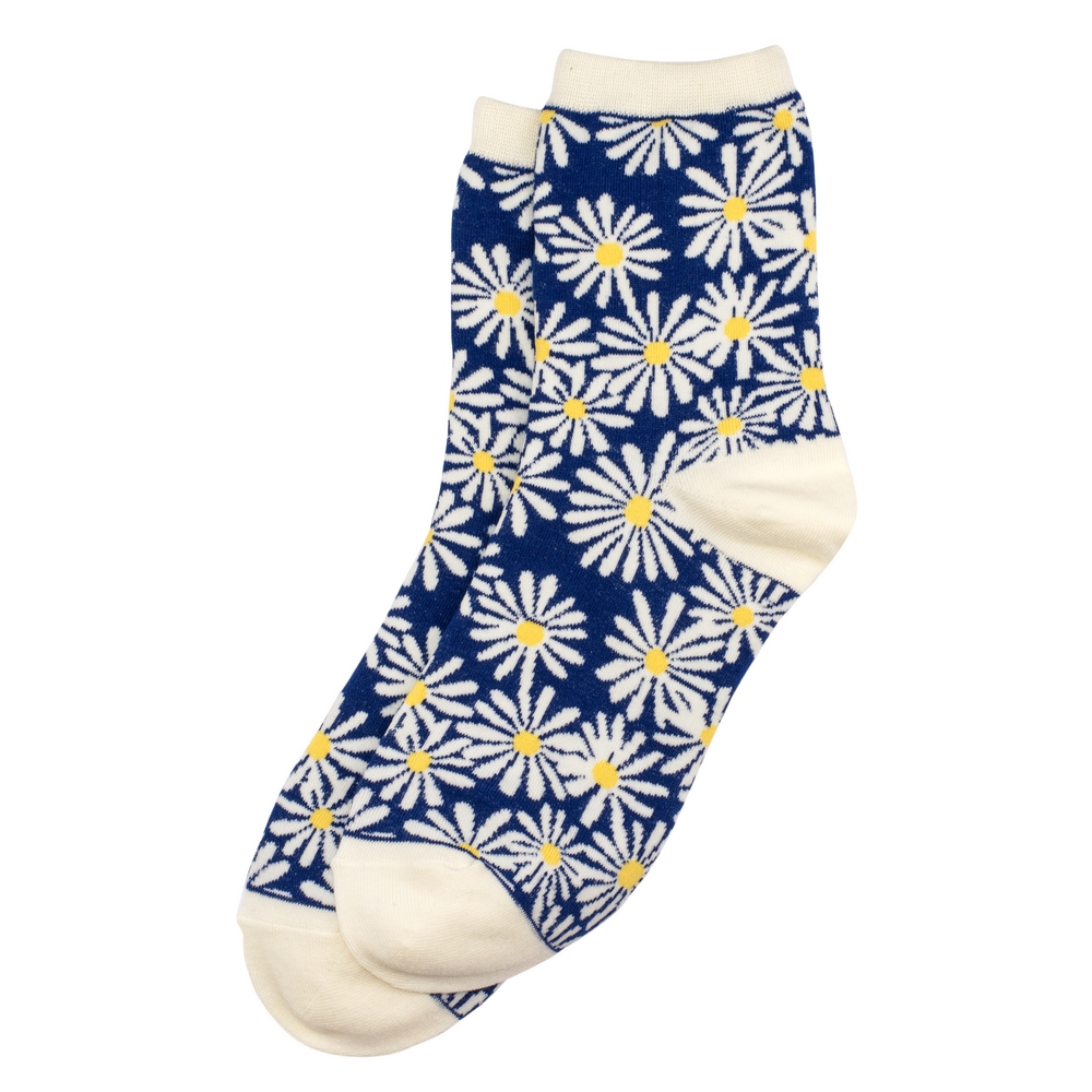 Socks Chamomile Made With Cotton & Spandex by JOE COOL